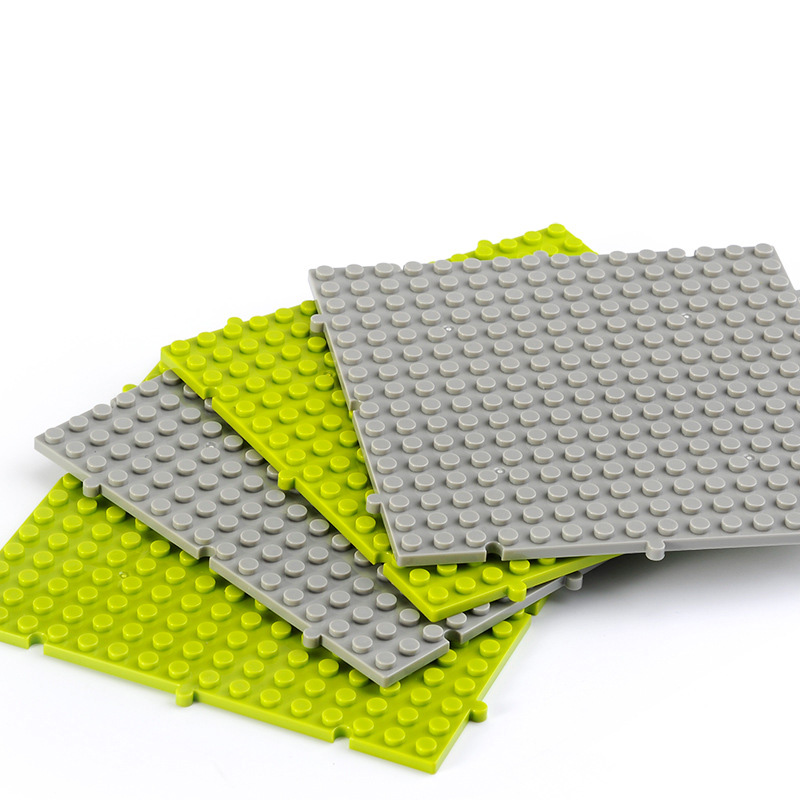 16*16  particle building board puzzle building block toy bottom board building block accessories