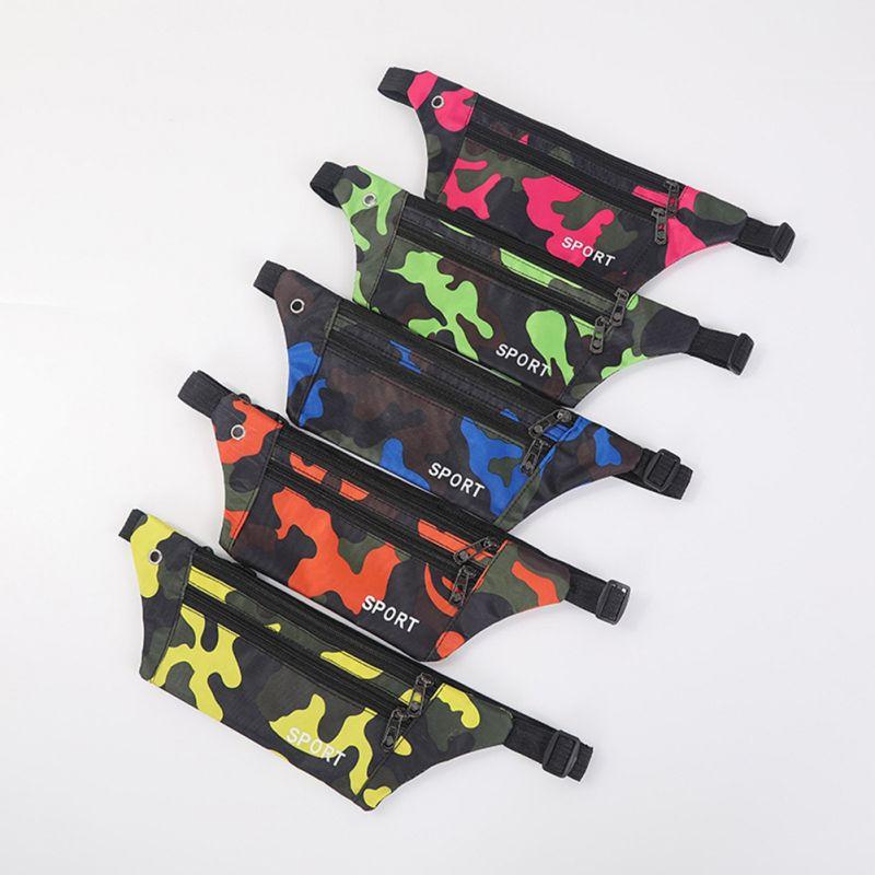 Unisex Waist Bag Messenger Storage Bags Chest Pack Outdoor Sports Running Bag Mobile Phone Bag