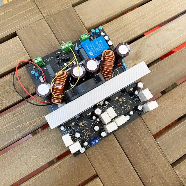 Усилитель 2000 Вт, 2 кВт, RMS Hi Fi, высокая мощность IRS2092, плата цифрового усилителя BTL, высокая точность, сценический усилитель, супер сабвуфер, плата H123