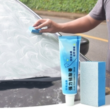 Auto Car Glass Polishing Degreaser Cleaner Oil Film Clean Polish Paste for Bathroom Window Glass Windshield Windscreen