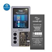 아이폰 7/8/8P/X/XR/XS/XSMAX/11Pro 최대 LCD/진동기 전송 EEPROM 프로그래머 용 배터리 테스트 보드가있는 Qianli iCopy Plus