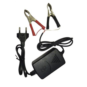 Auto Car Motorcycle ATV DC 12V/1A 15W Universal Portable Multi-mode Rechargeable Battery Charger Tender Maintainer image