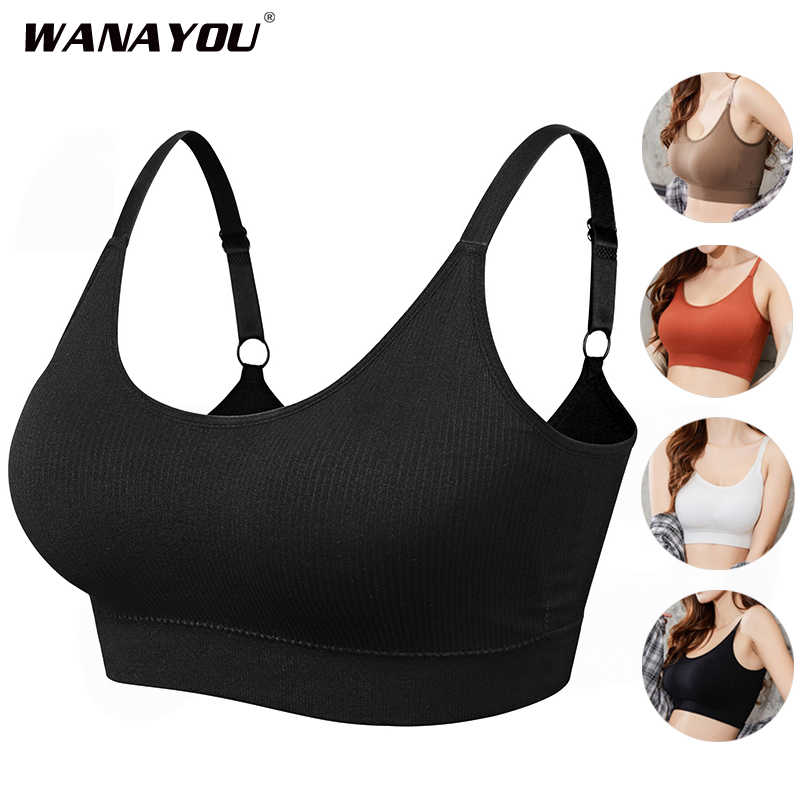 Komfortable Nahtlose Sport-Bh Frauen Fitness Top Yoga Bh Für Tasse A-D Jogging Yoga Gym Crop Top Frauen Push-Up sport Bh Top