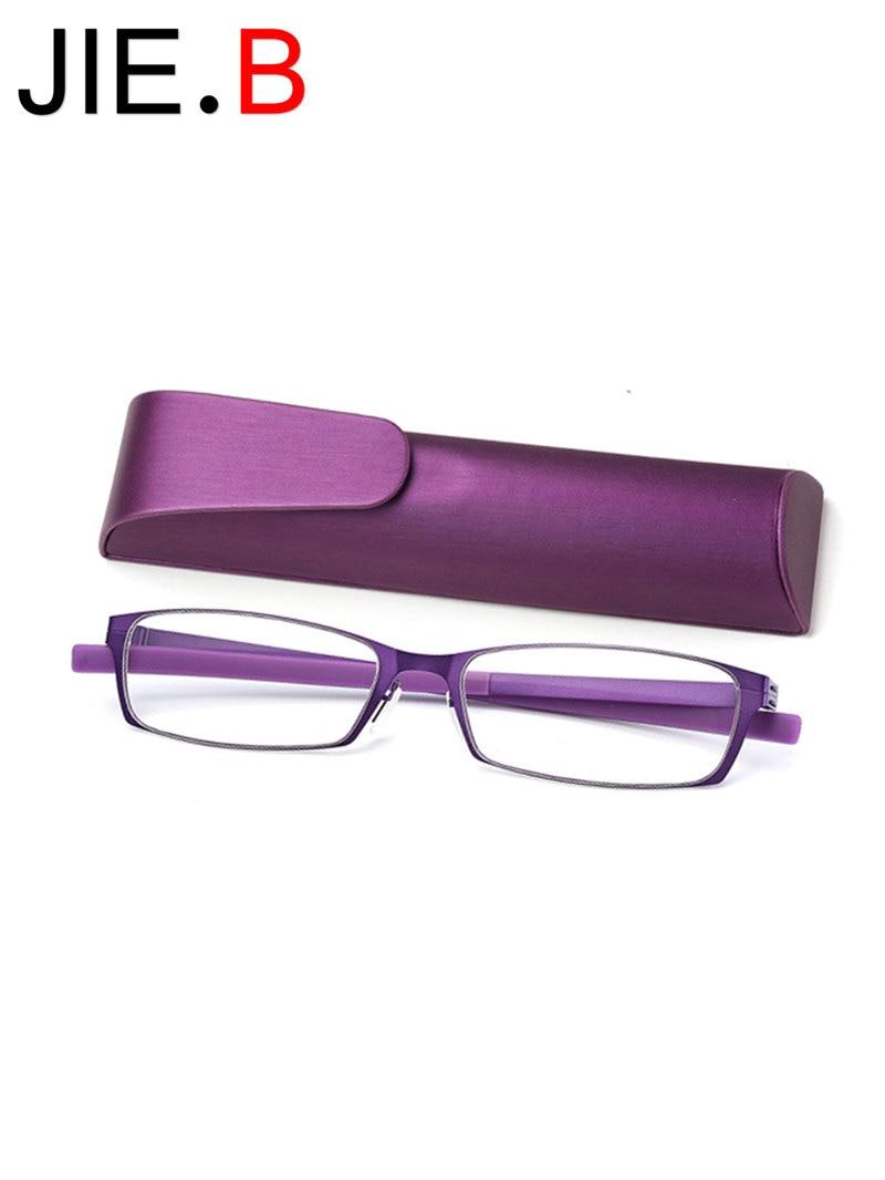 High quality, ultra light anti-blue presbyopic glasses for men and women fashion HD portable reading glasses + 100 + 150 ..