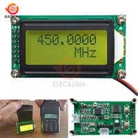 DC 9-12V 1 MHz-1,2 GHz RF Frequenz Zähler Tester Digitale PLJ-0802-E LCD0802 LCD Meter Für ham Radio 1-1200mhz DIY Kit