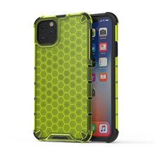 Akcoo Honeycomb Rugged Hybrid Armor Cases for iPhone 11 Pro Max Back Cover 6s 7 8 Plus XR XS Shell