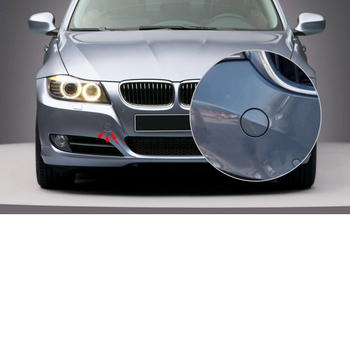 51117207299 51-11-7-207-299 1PC Grey Front Bumper Tow Hook Cover Cap Fit for BMW E90 E91 318i 320i 328i 330i 335i 335xi image