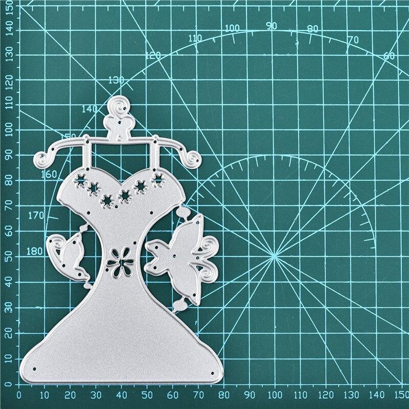 DiyArts Lace Dress Metal Cutting Dies New 2019 for Craft Dies Scrapbooking Album Embossing Stencil Die Cut DIY Card Decoration in Cutting Dies from Home Garden