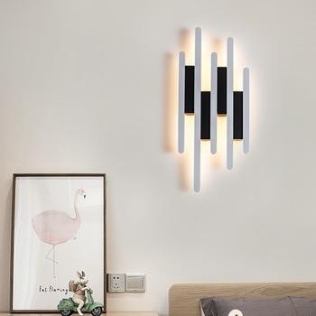 Modern simple LED wall lamp study corridor living room bedroom head of a bed creative personality corridor dual-purpose lamp E27