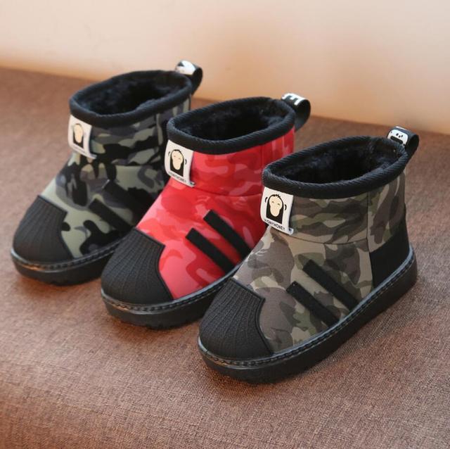 Children Fashion Brand Snow Boots 2
