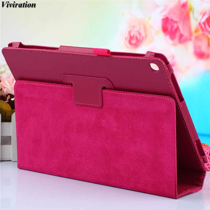 الساخن عارضة الأزياء الأعمال حامل جراب إيسوز ZenPad 10 Z300C حالة الفاخرة الذكية جلد الوجه اللوحي PC غطاء حالة