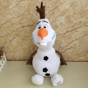 Disney Frozen 2 23cm/30cm/50cm Snowman Olaf Plush Toys Stuffed Plush Dolls Kawaii Soft Stuffed Animals For Kids Christmas Gifts 1