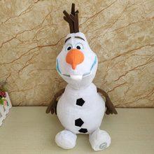 Disney dondurulmuş 2 23cm/30cm/50cm kardan adam Olaf peluş oyuncaklar dolması peluş bebekler Kawaii yumuşak dolması hayvanlar çocuklar için noel hediyeleri
