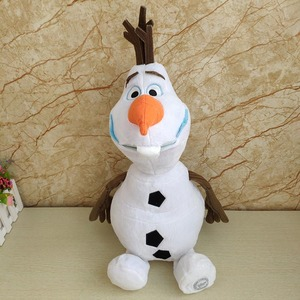 Disney Frozen 2 23cm/30cm/50cm Snowman Olaf Plush Toys Stuffed Plush Dolls Kawaii Soft Stuffed Animals For Kids Christmas Gifts(China)