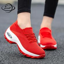 Женская Повседневная обувь; женские лоферы на плоской подошве; сезон весна-осень; сетчатая обувь; женская обувь на шнуровке с круглым носком; большие размеры; h47