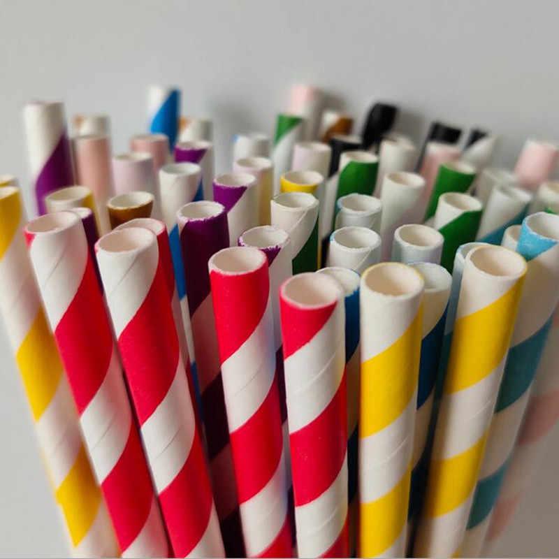 Decoración de cumpleaños de San Valentín 25 piezas pajillas de papel para beber despedida de soltera niños cumpleaños fiesta suministros