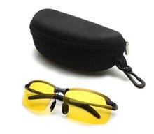 Mode Brille Fahren Sonnenbrille Unisex Nachtsicht Polarisierte Gläser UV400 Polarisierte Brillen Night Vision Goggles Männer der glas