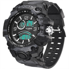 Watches Men Clock Shock Synoke-G Sports Rubber Digital Military-Style Outdoor Male Waterproof