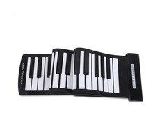 Portable 61 Keys Roll -up Piano Usb Midi Keyboard Midi Conctroller Hand Electronic Piano стоимость
