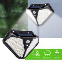 Goodland 102 LED Solaire Lumière Extérieure Lampe Solaire avec Capteur De Mouvement Solaire LUMIÈRE LED Étanche Lumière Solaire Alimenté Pour jardin Decora