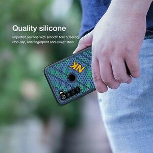 Image 4 - Voor Xiaomi Redmi Note 8 Case Cover NILLKIN Striker Case 3D Textuur TPU Siliconen Zachtheid Back Cover Voor Xiaomi Redmi note 8 pro