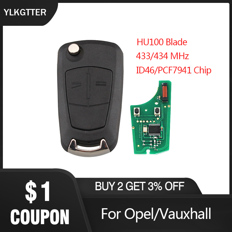 YLKGTTER <font><b>Remote</b></font> <font><b>Key</b></font> Suit for <font><b>Opel</b></font>/Vauxhall Astra H 2004 - 2009 Zafira B 2005 - 2013 for Valeo13.149.658 Keyless Entry System image