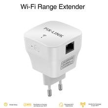 Pixlink repetidor de longo alcance, roteador sem fio, 300mbps extensor de alcance, repitador, wi-fi, ponto de acesso, amplificador simples wr12