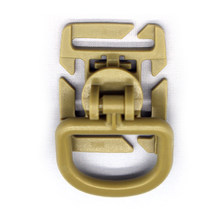 Sternum Strap System Swivel D-Ring Rotation POM Buckle 25MM Webbing(China)