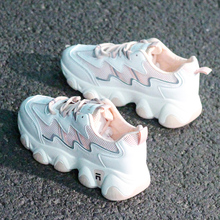 Women Sneakers Breathable Outdoor Walking Shoes Woman Mesh Casual Shoes Pink Lace-Up Ladies Shoes 2020 Fashion Female Sneakers women sneakers breathable outdoor walking shoes woman mesh casual shoes white lace up ladies shoes 2019 fashion female sneakers