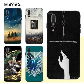 MaiYaCa Shingeki no Kyojin ataque en Titán para Huawei P30 Pro P40 P10 P20 Lite amigo 20 30 10 Lite P Smart 2019 Z