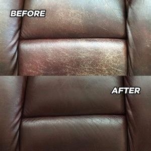 Image 5 - طقم ترميم الجلد السائل ، طلاء داخلي للأحذية ، إصلاح ، أسود ، بني ، منتجات السيارة ، أريكة مقعد السيارة