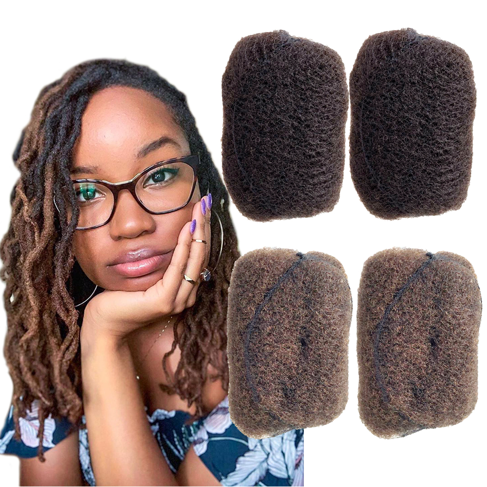 YONNA Tight Afro Kinky Curly Human Hair 4pcs/lot Senegalese Twist Hair Cosplay For Havana Mambo Twist Crochet Braid Hair
