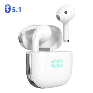 Image 1 - บลูทูธ5.1หูฟังหูฟังไร้สายหูฟังสเตอริโอไร้สายกีฬาหูฟังหูฟังพร้อมจอแสดงผลLEDสำหรับโทรศัพท์ทั้งหมด