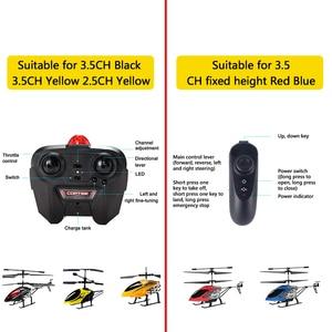 Image 3 - RC Hubschrauber 3,5 CH Radio Control Hubschrauber mit LED Licht Quadcopter Kinder Weihnachten Geschenke Bruchsicher Fliegende Spielzeug Modell