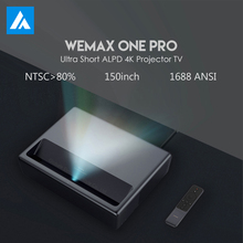 WEMAX ONE PRO Laser Projector 7000 Lumens 150'' 1080P Full HD 4K Android 6.0 BT4.0 2.4/5GHz WiFi MIU