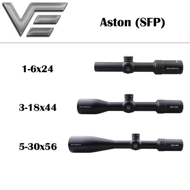 Vektör optik Aston 1 6x24 3 18x44 5 30x56 üst çizgi taktik tüfek çekim için fit Lapua Magnum .338 3006 tüfek kapsamı