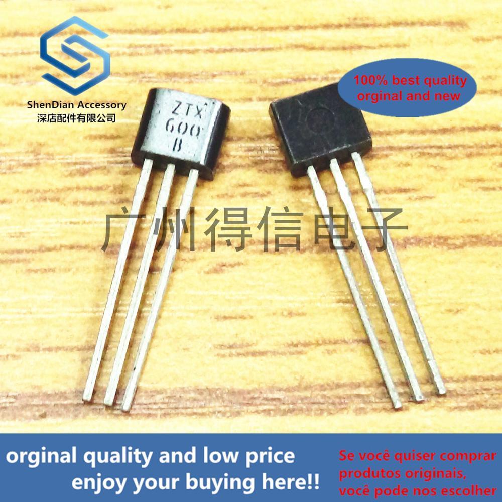 10pcs 100% Orginal New ZTX600B ZTX600 Imported Darlington 160V 1A 1W Real Photo