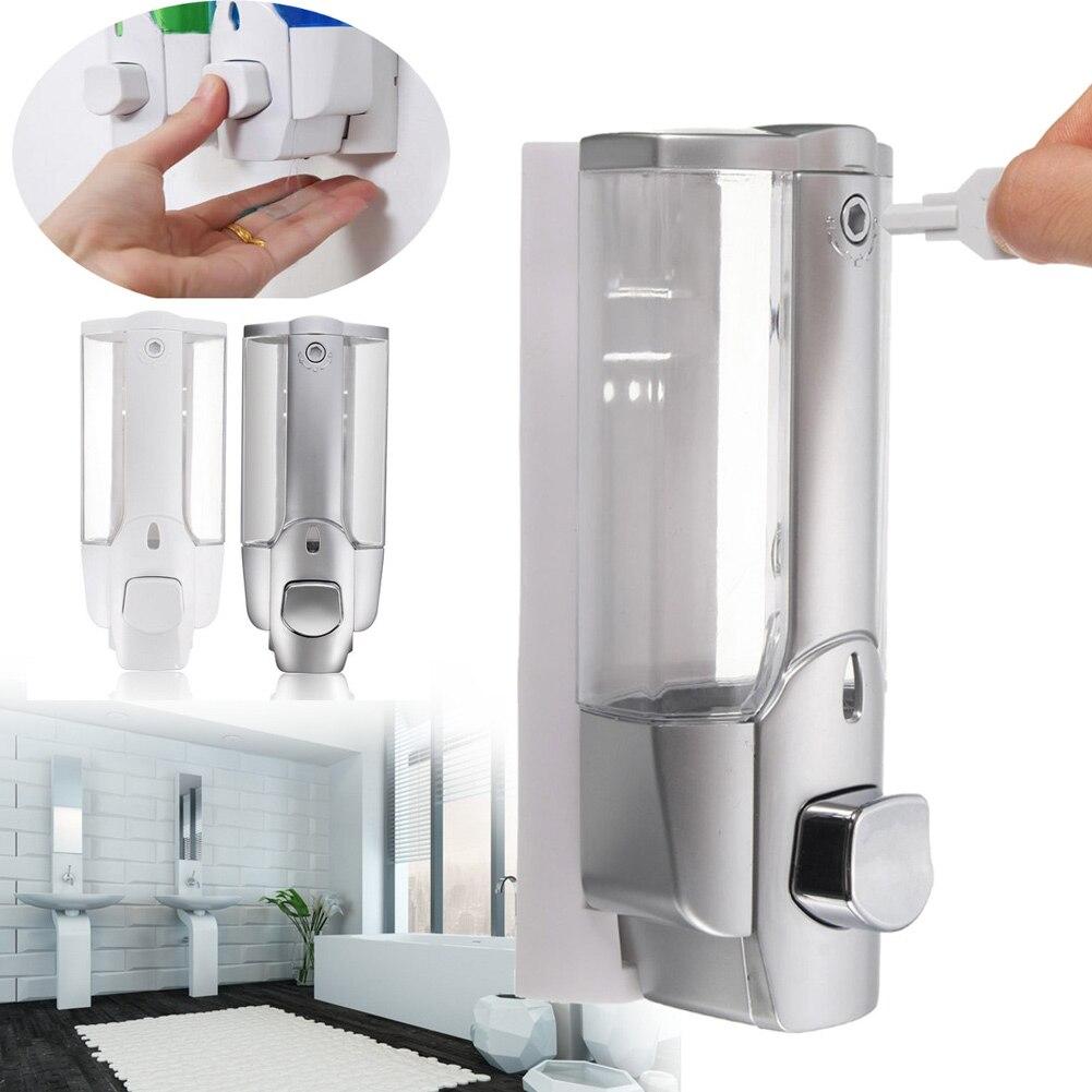 Wall Mounted Shampoo Soap Dispenser Sanitizer Bathroom Shower Liquid Lotion Pump OCT998