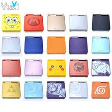 YuXi Full Shell Replacement Part For GBA SP For Nintendo Gameboy Advance SP Housing Case Cover стоимость