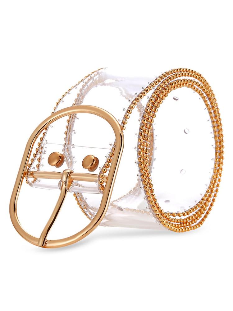 GOPLUS Casual Plastic Waist Belt For Women Ceinture Femme Accesorios Mujer 106CM Basic Belts C8187 in Women 39 s Belts from Apparel Accessories