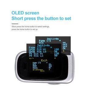 Image 3 - OLIECO مقياس نبض الإصبع النوم الطفل الكبار SPO2 PR PI RR رصد المنزلية الأكسجين في الدم تشبع OLED أوكسيمترو غير طبيعي Alam