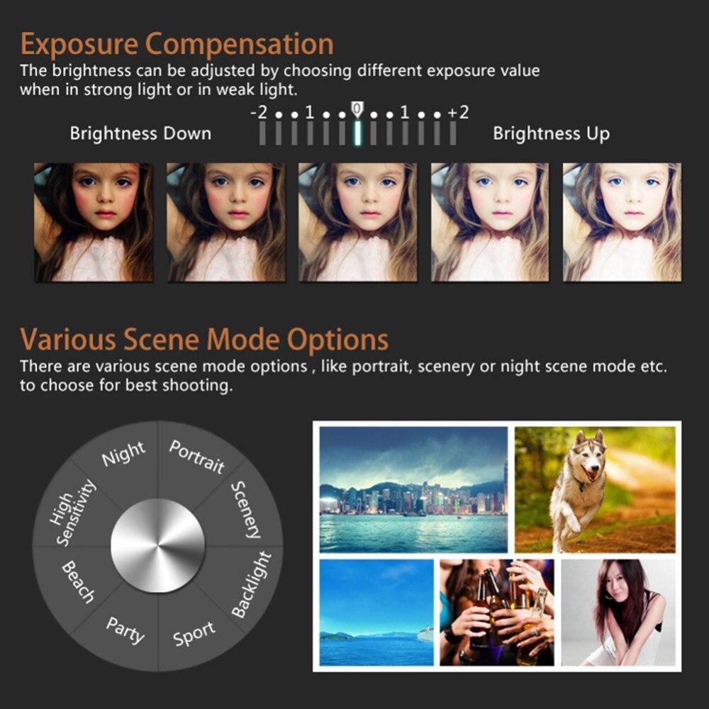 P11 цифровая камера с откидным экраном, беспроводная, Wi Fi, Full HD 1080 P, 24MP, 16X зум, цифровая камера, видео рекордер, высокое качество - 6