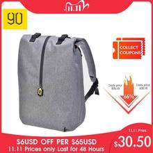 Original 90 diversão lazer mi mochila 14 polegadas de viagem casual portátil mochila estudante universitário saco escolar cinza azul
