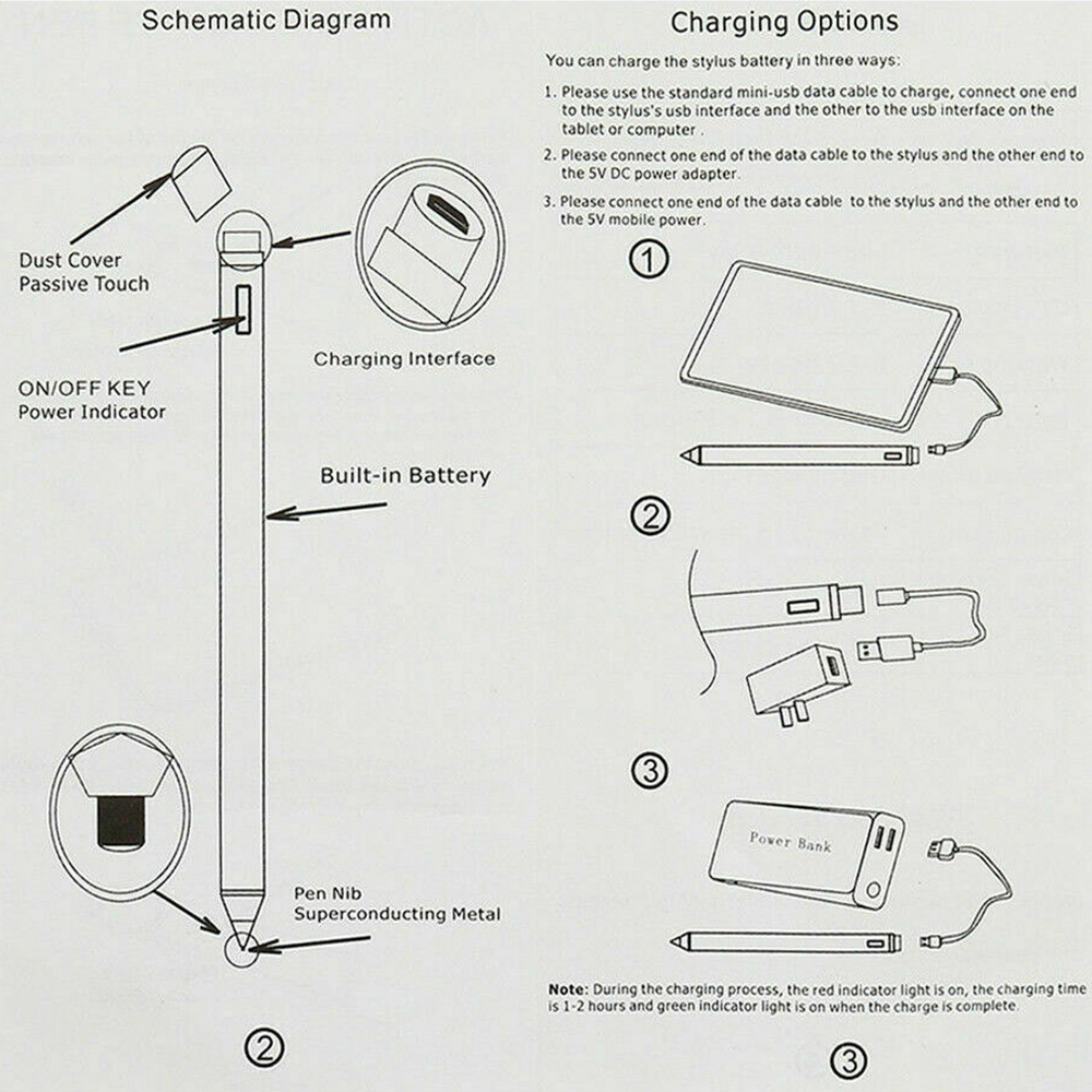 Universal Capacitive Stylus for IOS/Android 7