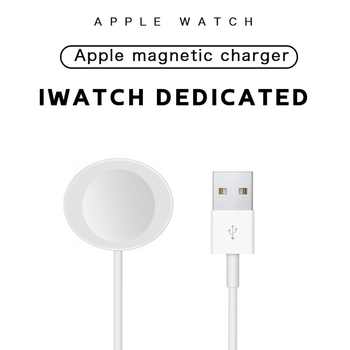 portable mini wireless charger for iwatch pocket magnetic charging dock station usb qi charger for apple watch series 1 2 3 4 Magnetic Charger Compatible for Apple Watch Series 6 5 4 3 2 1 SE Portable IWatch Wireless Charging Dock USB Smart Accessories