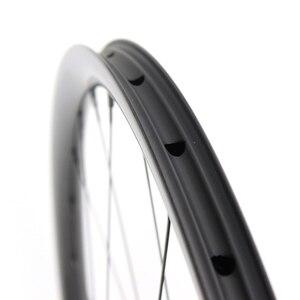 Image 2 - 29er Mtb Disc Wheels 28x24mm Tubeless NOVATEC D411SB/D412SB Ultralight Carbon Mtb Wheels 1330g±30g Bike Disc Wheelset 1423 Spoke
