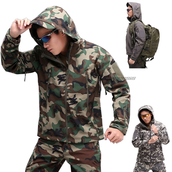 Tactical Jacket or Pants Softshell Windproof Hunting Jackets Military Camouflage Outdoor Sport Hiking Outerwear Army