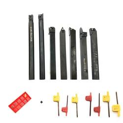 SER1010H11 MGEHR1010 2 SDJCR1010H07 SCLCR1010H06 S10K SCLCR06 SDNCN1010H07 SNR0010K11 7 biegun + 7 ostrza 10mm zestaw