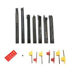 SER1010H11 MGEHR1010-2 SDJCR1010H07 SCLCR1010H06 S10K-SCLCR06 SDNCN1010H07 SNR0010K11 7 pole +7 blade 10mm set