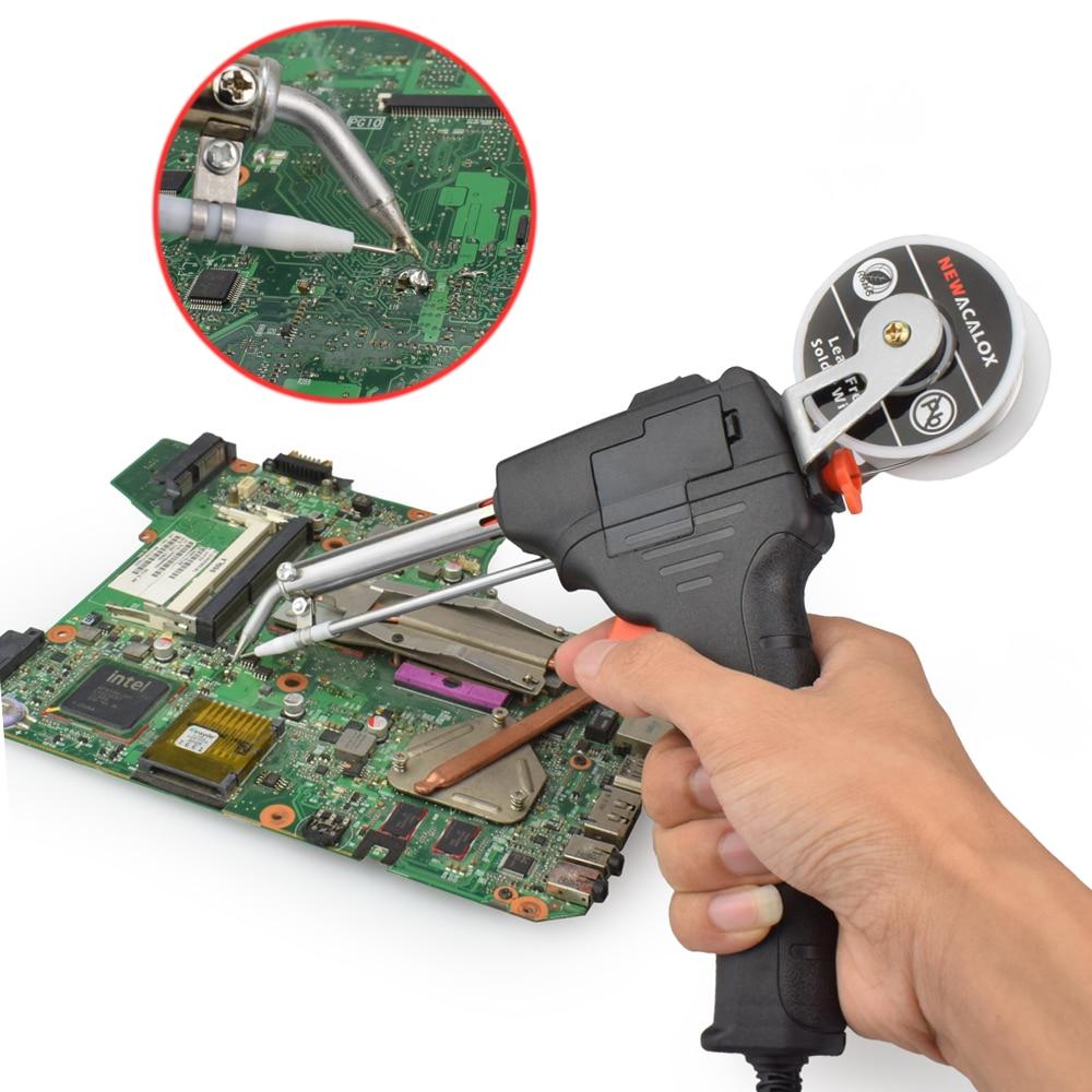 NEWACALOX 220V 60W EU automatinis siuntimo skardos pistoletas - Suvirinimo įranga - Nuotrauka 6